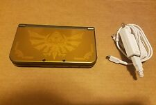Nintendo New 3DS XL Legend of Zelda:  Hyrule Gold Edition Console Nice Cond!