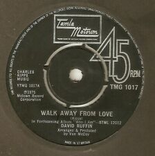 DAVID RUFFIN Walk Away From Love TAMLA MOTOWN TMG  NORTHERN SOUL UK 45