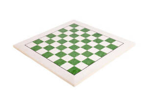 Bird's Eye Maple & Greenwood Standard Traditional Chess Board - 2.75""