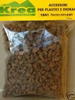 Pietrisco per plastico o diorama 1/35 in sughero extra gr.30 - Krea 1541