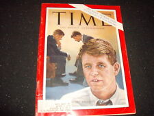 Time Magazine, Bobby Kennedy/Civil Rights: The Moral Crisis, June 21, 1963 *