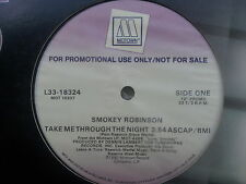 Smokey Robinson - Take me Through the Night