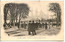 CP 14 CALVADOS - Caen - La Place du Parc un Jour de Foire
