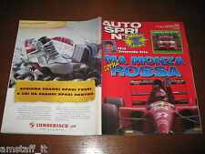 AUTOSPRINT 1993/37=GP F.1 D'ITALIA=LARINI RE ALFA-ROMEO DTM=FIAT PUNTO TURBO=