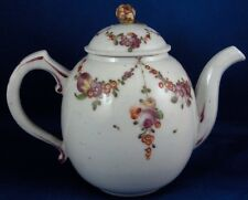 Rare 18thC Mennecy Porcelain Teapot Tea Pot Porzellan Kanne Teekanne French 1760