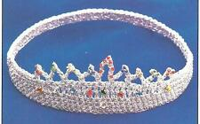 Tiara Crown crochet Pattern Instructions