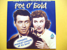 POT O' GOLD,  STARRING JAMES STEWART AND PAULETTE GODDARD,  (1 DVD)