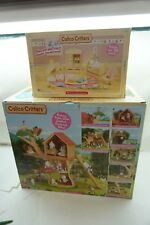 CALICO CRITTERS ADVENTURE TREE HOUSE BABY NURSERY LOT 2 SETS EPOCH NEW TOY d