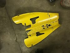 Yamaha YZF-R1 YZF R1 1000 04 05 06 undertail fairing panel yellow tail fender