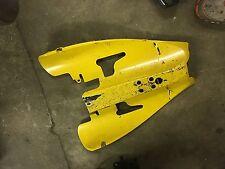 Yamaha YZF-R1 YZF R1 1000 04 05 06 undertail fairing panel yellow tail fender
