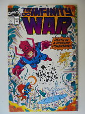 The Infinity War Nr.3 (1992) US Marvel Comic Zustan 1