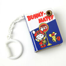 Vintage Sanrio Bunny Matty Telephone Book Keychain Mini Address Japan 1976