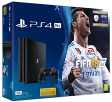 Playstation 4 PS4 Pro 1TB Console + FIFA 18 + PS Plus 14 Days Bundle