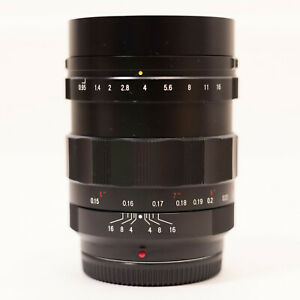 Voigtlander Nokton 17.5mm F/0.95 Lens M43 Blackmagic BMPCC 4K GH5/S E-M1 II/III
