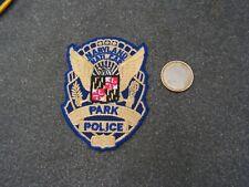 PATCH  police    us   park police maryland