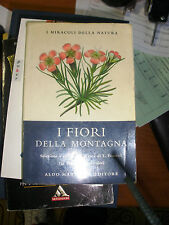 Book flowers of the Mountain Miracles of Nature Hammer Publisher 1971