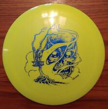 Latitude 64 Ballista Pro Yellow Blue Unique Stamp Skull Skulboy 171g Disc Golf