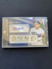 2008 Topps Sterling Baseball Yogi Berra Auto Patch 10/10
