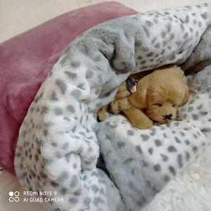 Kuschelsack 50x50cm,Hundebett,Katzenbett,Schlafsack,Katzenhöhle,Hundedecke,Bett