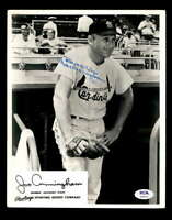Joe Cunningham PSA DNA Coa Hand Signed 8x10 Rawlings Photo Autograph
