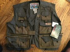 FISHING VEST FIELD & STREAM NEW NEVER USED  LARGE