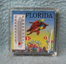 Turtle Florida Thermometer Magnet Thermometer Is Not Working Souvenir Mb96