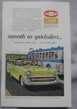 1957 Chevrolet Original advert