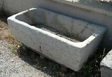 Vasca da Giardino in Pietra Grigia Grey Stone Antique Carved Bath Garden Vase
