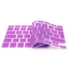 iProtect Silikon Tastaturschutz QWERTZ für Apple MacBook 12 Zoll Lila