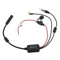 DAB+/FM car Radio signal amplifier conversion enhancer with SMB connector W5M7