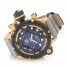 NEW Invicta Men's 16187 Russian Diver Swiss Made Mechanical Nautilus Gold Tone