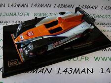 voiture 1/43 IXO GT  ASTON MARTIN AMR-ONE #007 24 H Mans 2011 presentation