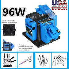 New listing 96W Electric Household Sharpener Multi Function Tool Drill Bit Scissor Grinder