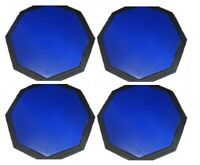 Set of 4 10'' Rubber Drum Practice Pads - Octagon