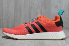 50 Adidas Originals NMD_R2 Summer Trace Orange/White/Gum Shoes Size 13 CQ3081