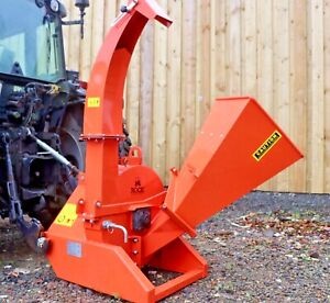 Venom RG100 Tractor Mounted Hydraulic PTO Chipper by Rock Machinery