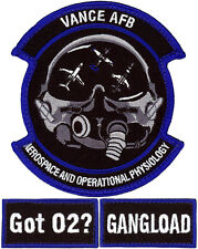 USAF 71st MEDICAL OPERATIONS SQUADRON PATCH SET