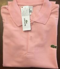 Polo Shirt Lacoste Men's Classic Bright Pink Brand Nwt. Choose Your Size