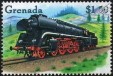 DRG (German Railways) Class 01 4-6-2 Express Steam Train Locomotive Stamp #6