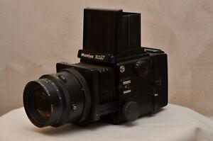Mamiya RZ67 mit 150mm Objektiv+2Stck. 120er Rollfilmmagazinen
