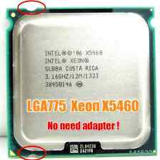Intel Xeon X5460 LGA775 = (Core 2 Quad Q9650)more powerful!!!(3.16ghz) SLBBA