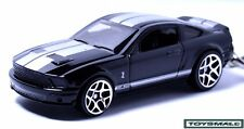 NICE KEY CHAIN BLACK SILVER NEW MUSTANG GT500 GT SHELBY PORTE CLE LLAVERO БРЕЛОК