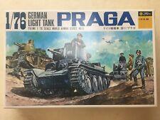 German Light Tank PRAGA 1/76 Scale Fujimi Model kit