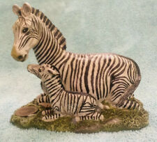 1990 William Holden Wildlife Collection Novelino mother & baby Zebra mare & foal