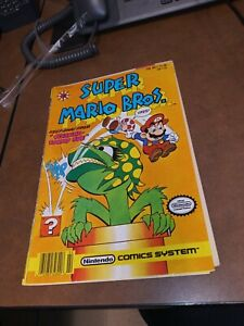 Super Mario Bros. #1 Nintendo Comics System Valiant Comics 1991 brothers game
