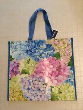NEW Marshalls Large Shopping Bag Tote ~ Hydrangeas ~ Reusable EcoFriendly NWT