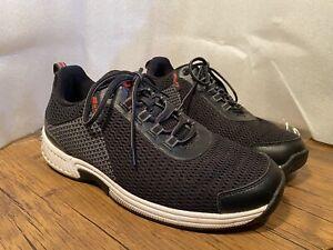 Orthofeet Biofit 617 Edgewater Black Athletic Shoes Mens 11.5 Wide