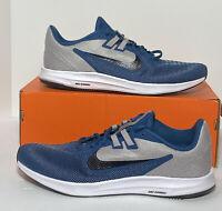 New Nike DownShifter 9 Running Shoes Mens Size 12 Grey Black AQ7481 009