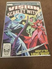 The Vision and the Scarlet Witch #1 (1982)  Marvel Key Issue Bronze Age Free S/H