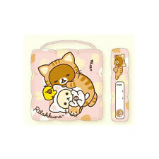 "San-X Rilakkuma Relax Children Chair Seat Cushion (Pink) 12 x 12"" x 3"""